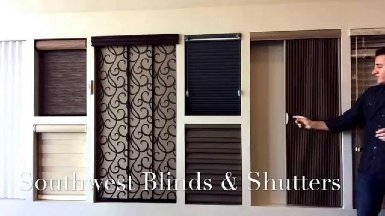 Window Coverings For Sliding Doors - YouTube