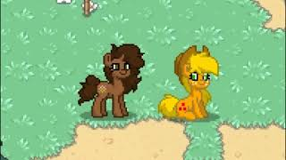 Playing Pony Town