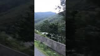 Artvin Karagölden Borçka'ya İniş  Çoruh Nehri