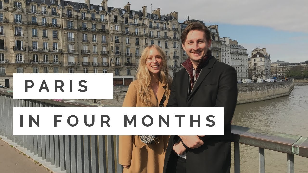 A Walk Across The Seine With Paris In Four Months Youtube