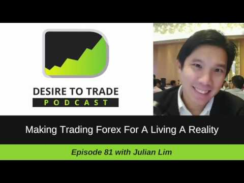 081: Make Trading Forex For A Living A Reality - Julian Lim | Trader Interview