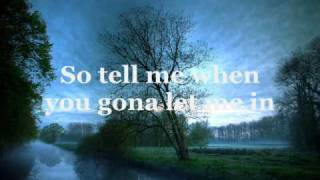 Lifehouse - Somewhere Only We Know lyrics