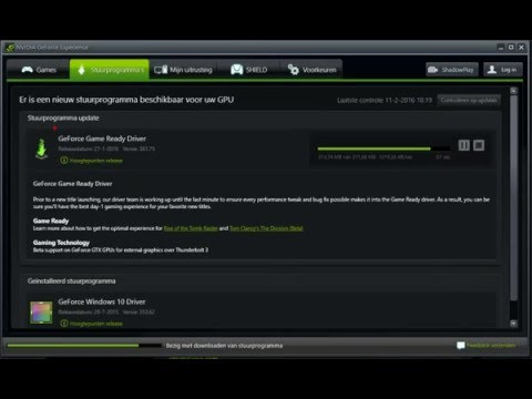 nvidia geforce game ready driver update is available como atualizar