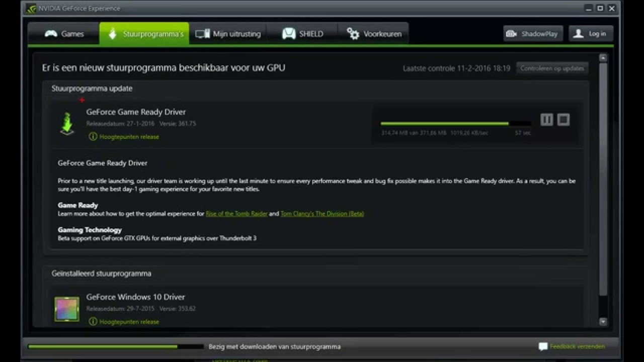 Nvidia Keeps Downloading Game Ready Driver