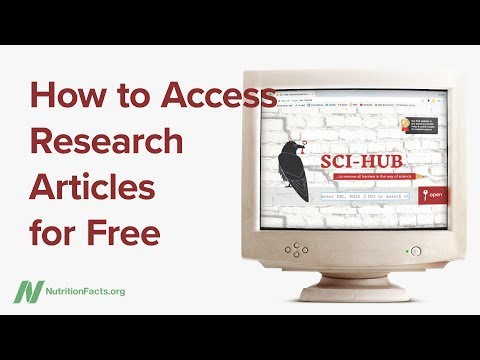 How to Access Research Articles for Free