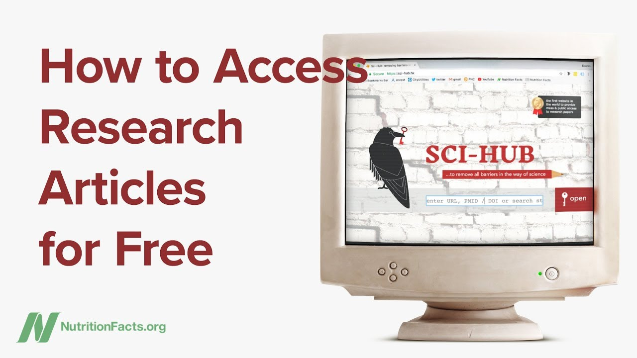 How to Access Research Articles for Free | NutritionFacts org