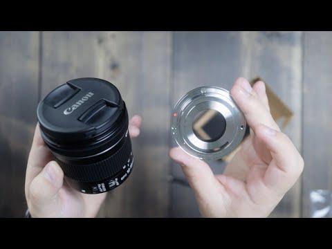 Canon 10-18mm Metal EF Mount Swap