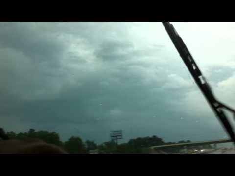 Driving into Tornado going West on I30 from Little Rock AR Sept 2012 F