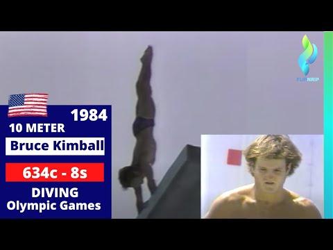 1984 Bruce Kimball USA - 633c - 8.5s - Platform - Olympics