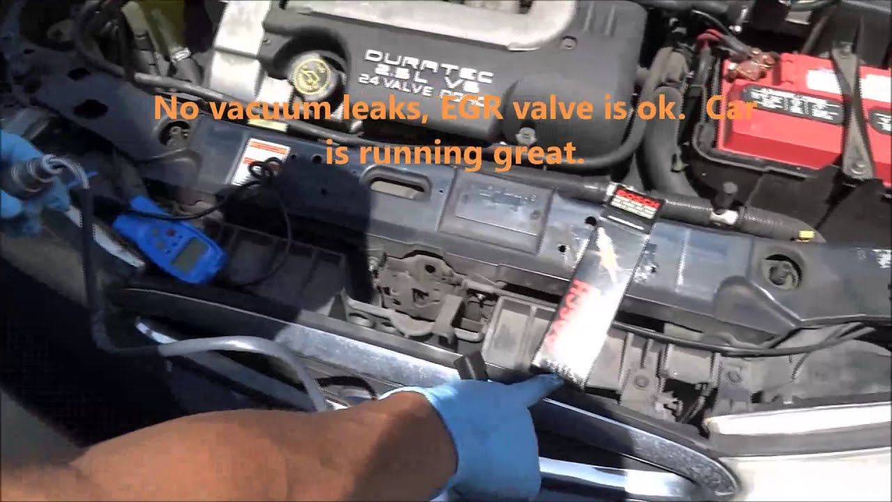 Diagnosing And Replacing Bad Oxygen Sensor Youtube 2004 Ford Escape Location