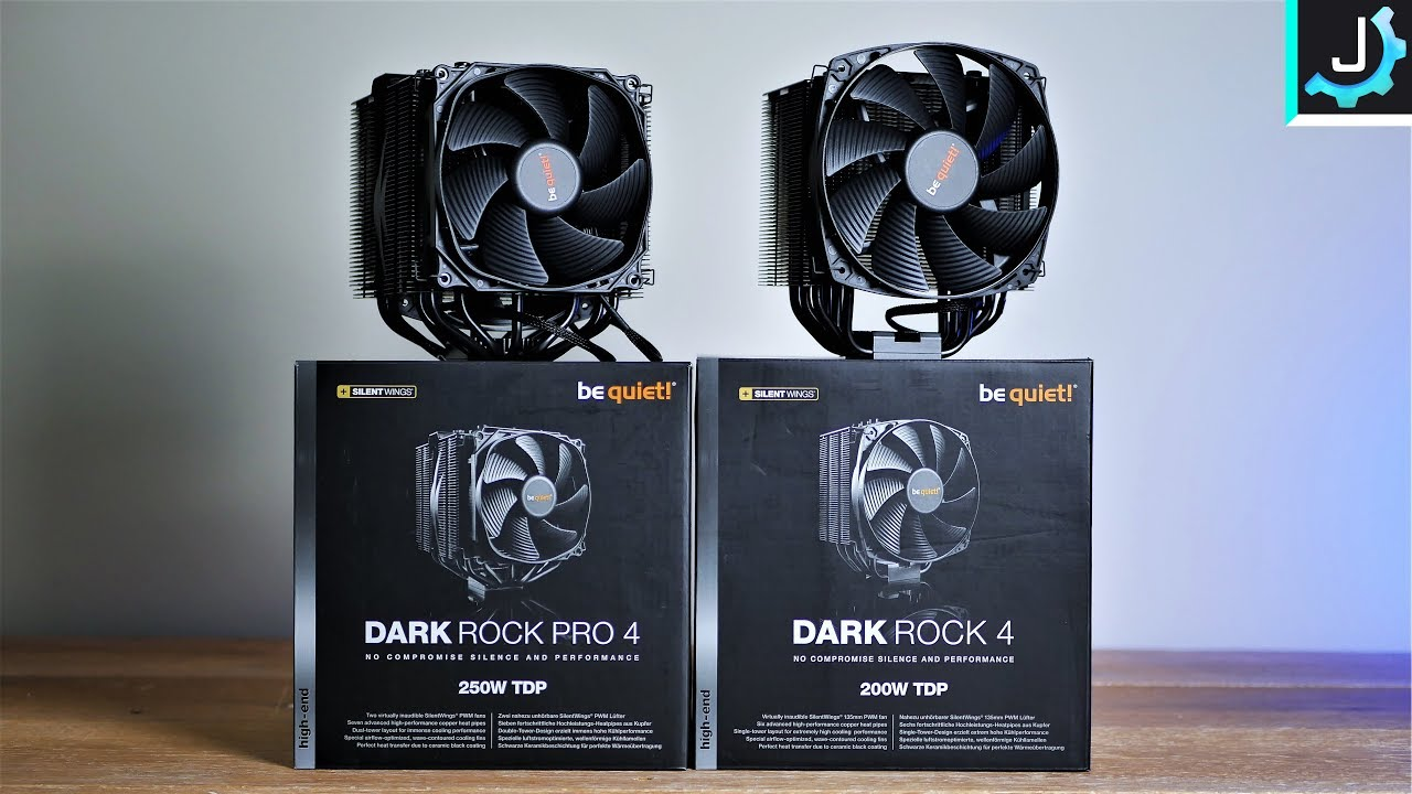 be quiet! Dark Rock 4 & Pro 4 Review + Install Guide - YouTube
