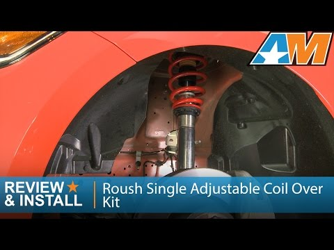 2015-2017 Mustang Roush Single Adjustable Coil Over Kit Review & Install
