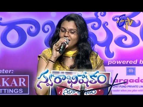 Malli Malli Padali Song - Pranavi Performance in ETV Swarabhishekam - Chicago,USA - ETV Telugu
