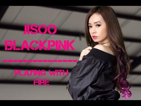 [MAKE UP TUTORIAL] BLACKPINK - '불장난 (PLAYING WITH FIRE)' - JISOO by Silvia Muryadi - YouTube
