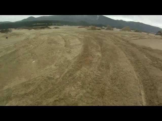 Sand lake jumps