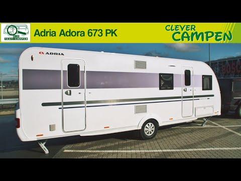 Adria Adora 673 PK: Zwei Abteile für jung und alt - Die Test-Camper | Clever Campen