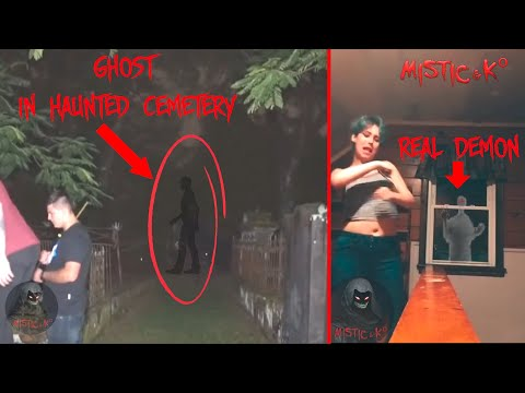 Real ghost videos//Top 5 scariest ghost videos//Mysterious and Paranormal Events Caught on Camera