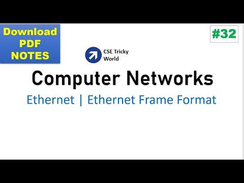 Computer Networks| Ethernet (IEEE 802.3) | Ethernet Frame Format | GATE | CSE| NET