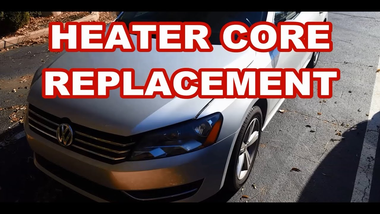 Vw Passat Heater Core 2009 2017 Replacement Volkswagen Youtube 2010 Jetta Fuse Diagram