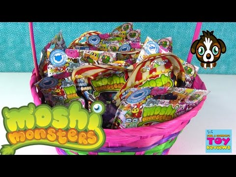 Moshi Monsters Blind Bags Opening Originals Magnificent Circus Palooza | PSToyReviews