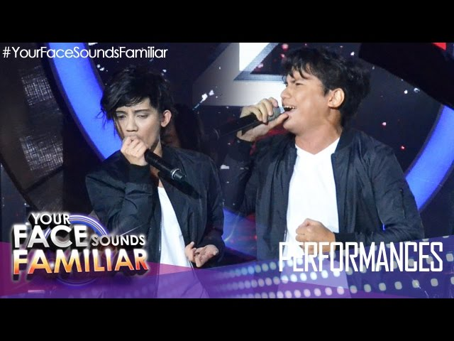 "Your Face Sounds Familiar: KZ Tandingan as Yael Yuzon of Spongecola – ""Bitiw"""