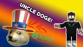 I GOT UNCLE DOGE!!! **WORTH OVER 8,000 ROBUX** **roblox Crate Kings**