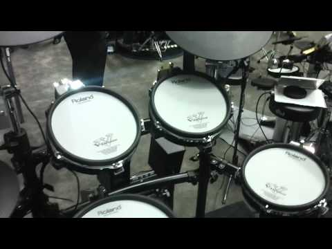 NAMM 2011: Roland debuts the new TDKX2 electronic drum kit