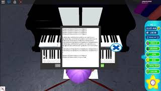 ROBLOX Virtual Piano - Final Fantasy, Eternity Memory of Light & Waves