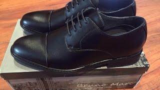 Обзор посылки из Америки 6pm.com мужские туфли Marco Bruno Оксворды
