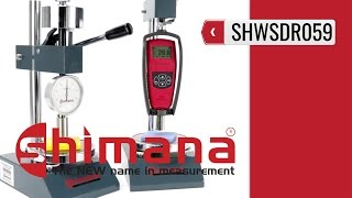 SHIMANA SHWSDR059 - Test Stand for Durometers (product video presentation)