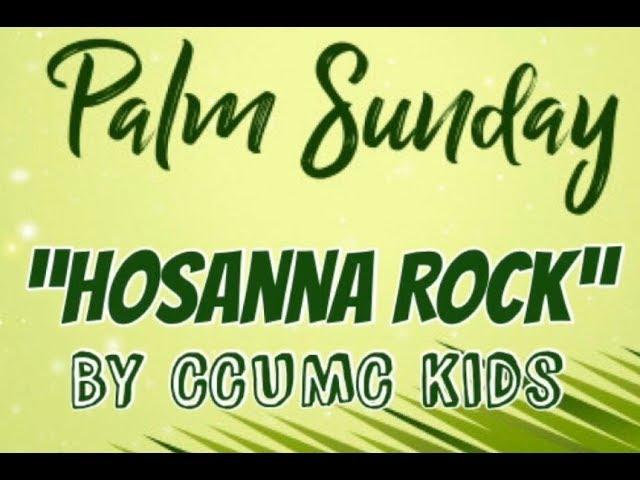 CCUMC Palm Sunday