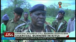 Charcoal business still booming in Kitui despite ban by Governor Ngilu