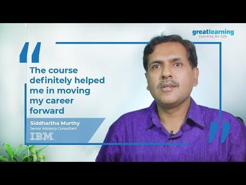 Great Lakes Big Data and Machine Learning Program Experience   Siddhartha Murthy