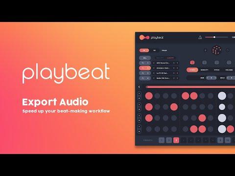 Playbeat 2.3 | Export Audio