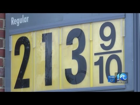 Gas prices up in Hampton Roads