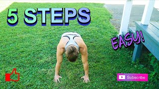 5 STEPS TO A BETTER PUSH-UP