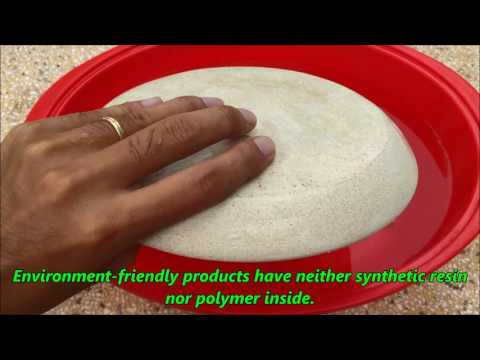 Forming products from rice husk  with nano technology