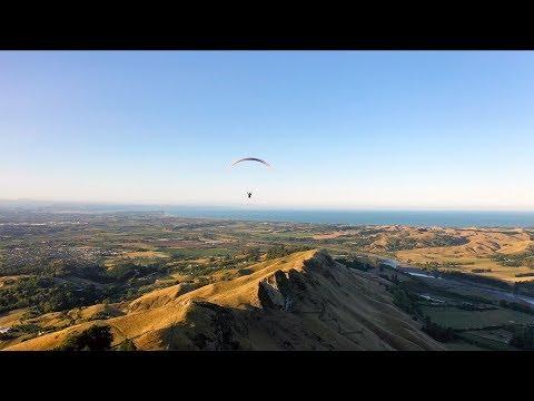 Paragliding Te Mata Peak | Drone POV