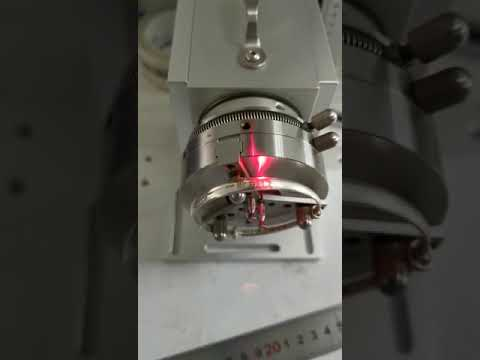 Fiber Laser Marking Machine Wiht Rotory Chuck for Ring or ...