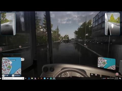 Bus Simulator 2018! LIVE #1 |