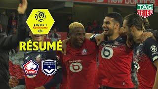 LOSC - Girondins de Bordeaux ( 3-0 ) - Résumé - (LOSC - GdB) / 2019-20