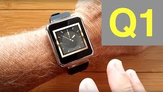 FINOW Q1 SQUARE Android 5.1 Smartwatch: Full Review