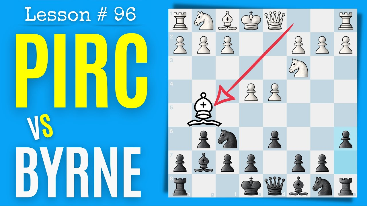 Download Pirc Defense vs Byrne Variation as Black