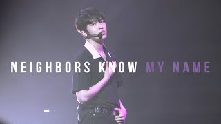 190706 김재환 팬미팅 IN SINGAPORE - Neighbors know my name
