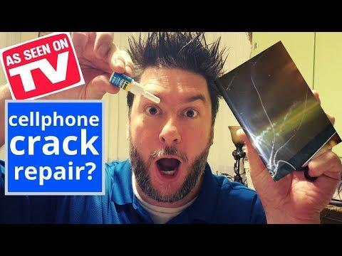 Repair Cracked Phone Screen: As Seen On TV Product Cellphone Screen Repair