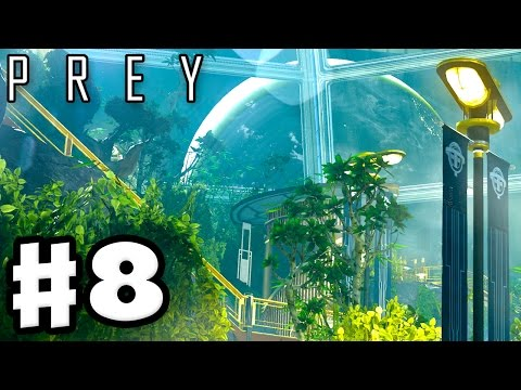 Prey - Gameplay Walkthrough Part 8 - Arboretum! Alex's Safe! (Prey 2017, PC)