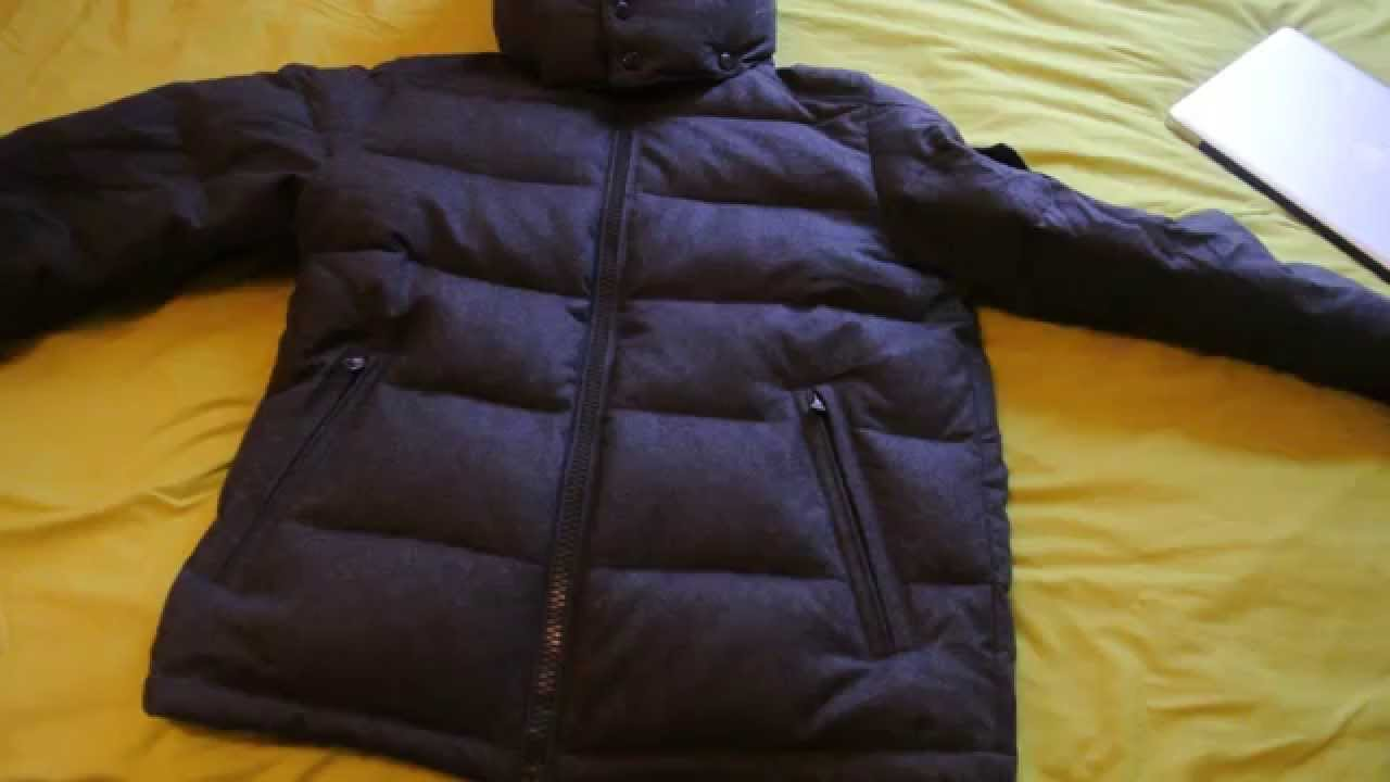 Genuine Moncler Montgenevre Wool Ski Jacket £875 PLUS Tips How to Spot Fakes - YouTube