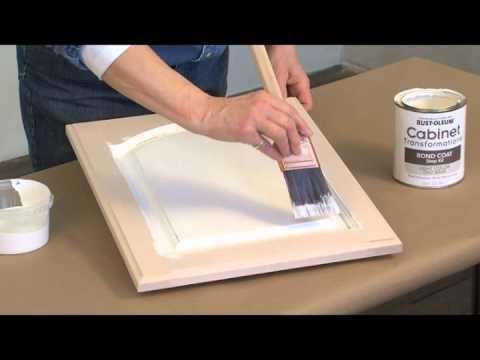Cabinet Transformations  Heavy Edge Glazing Technique