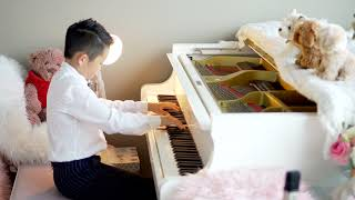 Chris Plays Moonlight Mood by William Gillock