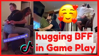 Hugging Boyfriend When He's Playing Video Games   Tiktok Compilation
